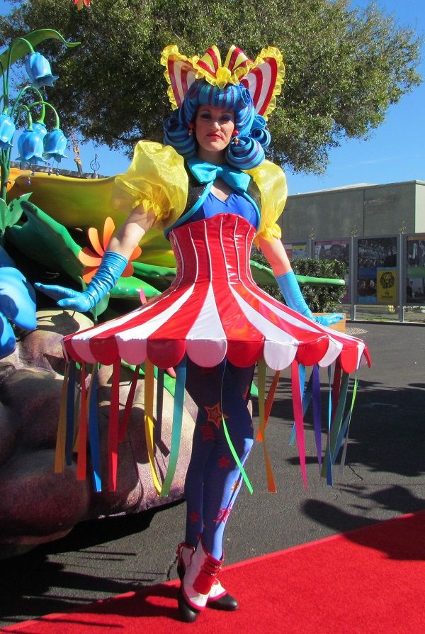 Circus Tent inspired costume from Finale   Circus themed
