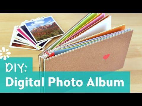 how to make a photo album oh joy digital baby shower youtube