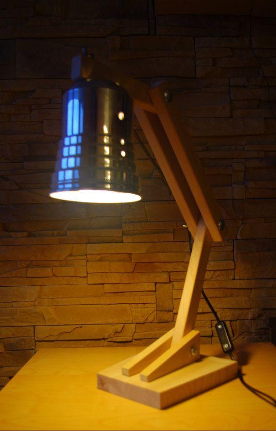 L mpara de escritorio plegable por adarusdesign en etsy hogar pinterest escritorio - Lamparas de escritorio ...