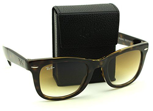 276a2190d3f RayBan RB4105 71051 Wayfarer Folding Tortoise Frame Brown Gradient Lens  50mm -- Read more reviews of the product by visiting the link on the image.