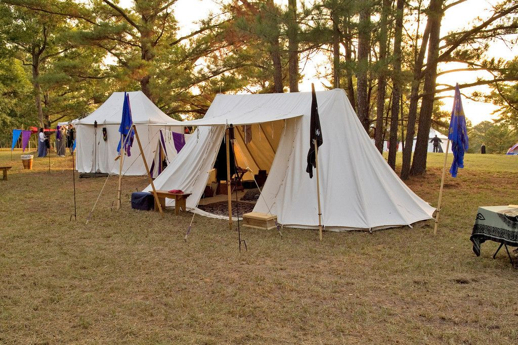 Itu0027s a French double-bell wedge by Midwest Tents & Itu0027s a French double-bell wedge by Midwest Tents | Glamping ...