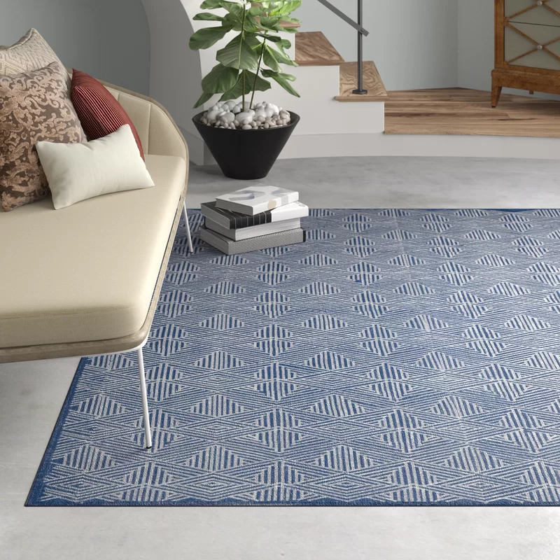 Pavillion Hand Woven Wool Navy Area Rug Exquisite Rugs Navy Area Rug Area Rugs
