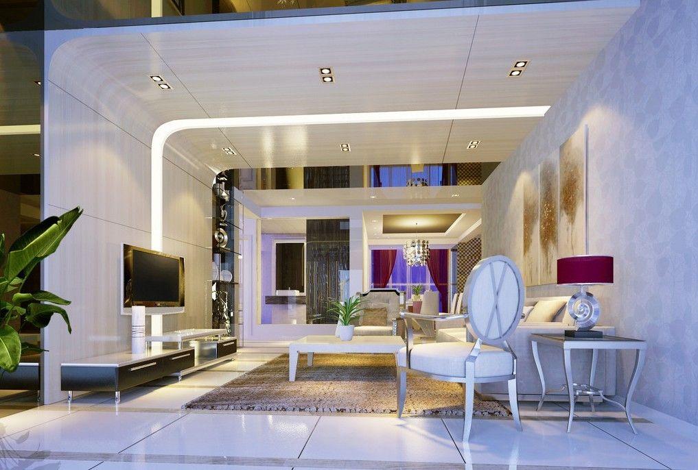 Creativity Living Room Duplex House Interior Design 3d House