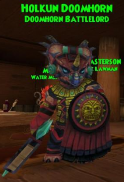 Companion:Holkun Doomhorn (Doomhorn Battlelord) Class