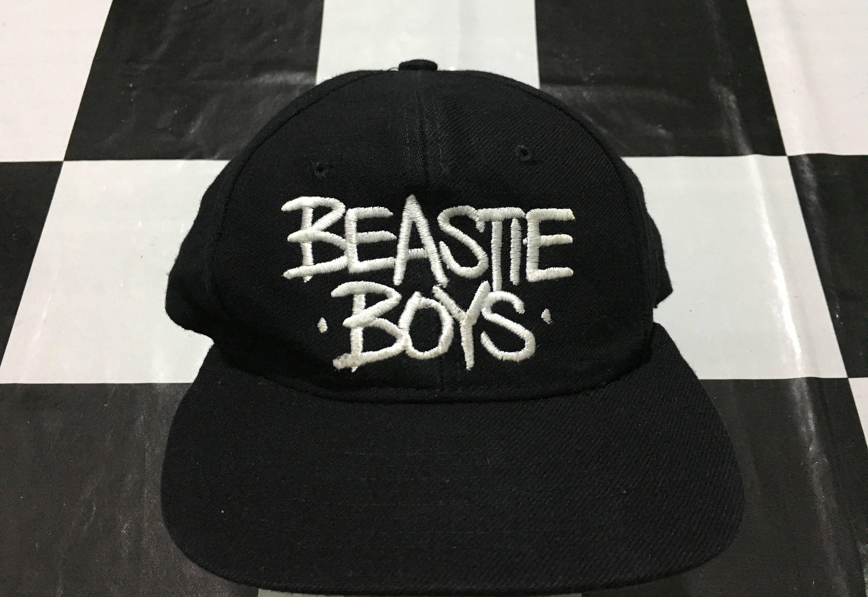 84238ea5b1b Vintage Beastie boys snapback cap check your head strapback Good condition  by AlivevintageShop on Etsy