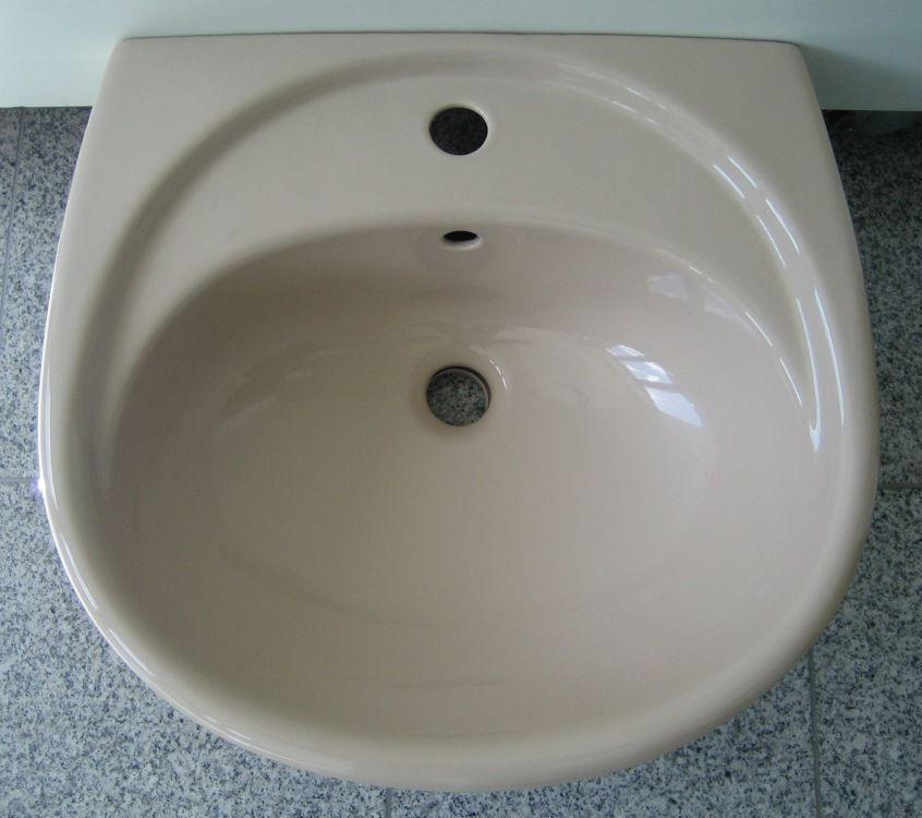 NOVO-BOCH Hand-Waschbecken Waschbecken BAHAMABEIGE 50 x 46 cm - keramik waschbecken k che