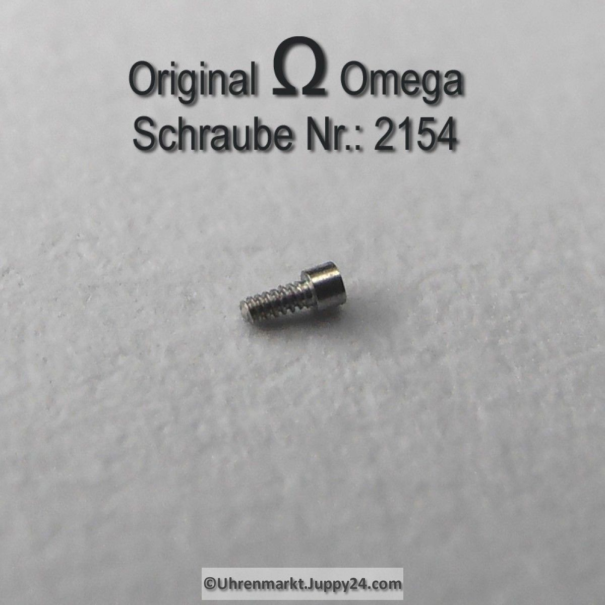 Omega Schraube 2154 Part Nr. Omega 2154 - Omega Ersatzteile -
