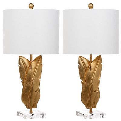 "Palmgrass Wings 25.5"" Table Lamps (Set of 2) (Set of 2)"