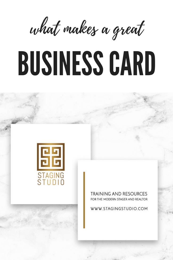 Business Card Tips From Staging Studio Businesscard Businesstips Marketingtips Homestaging Homestagingtips Staging Home Staging Business