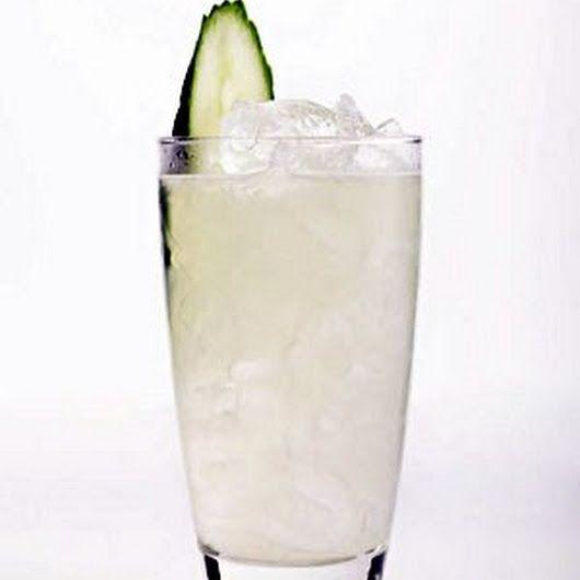 Cucumber Collins, Cucumber Vodka, Collins