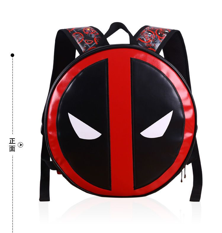 Deadpool Comics Backpack Bag X Men Leather School Travel Book Bags