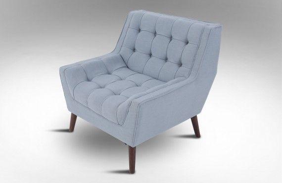 $534 Drift Occasional Chair 'Fairy Dust Blue'
