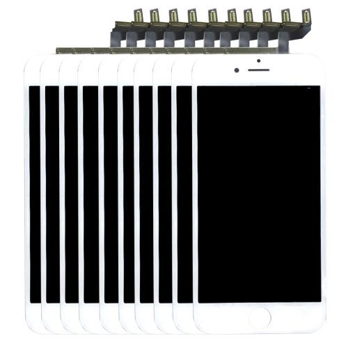1115.00] 10 PCS iPartsBuy 3 in 1 for iPhone 6s (LCD + Frame + Touch ...