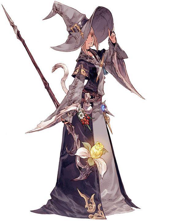 miqote female conjurer characters amp art final fantasy