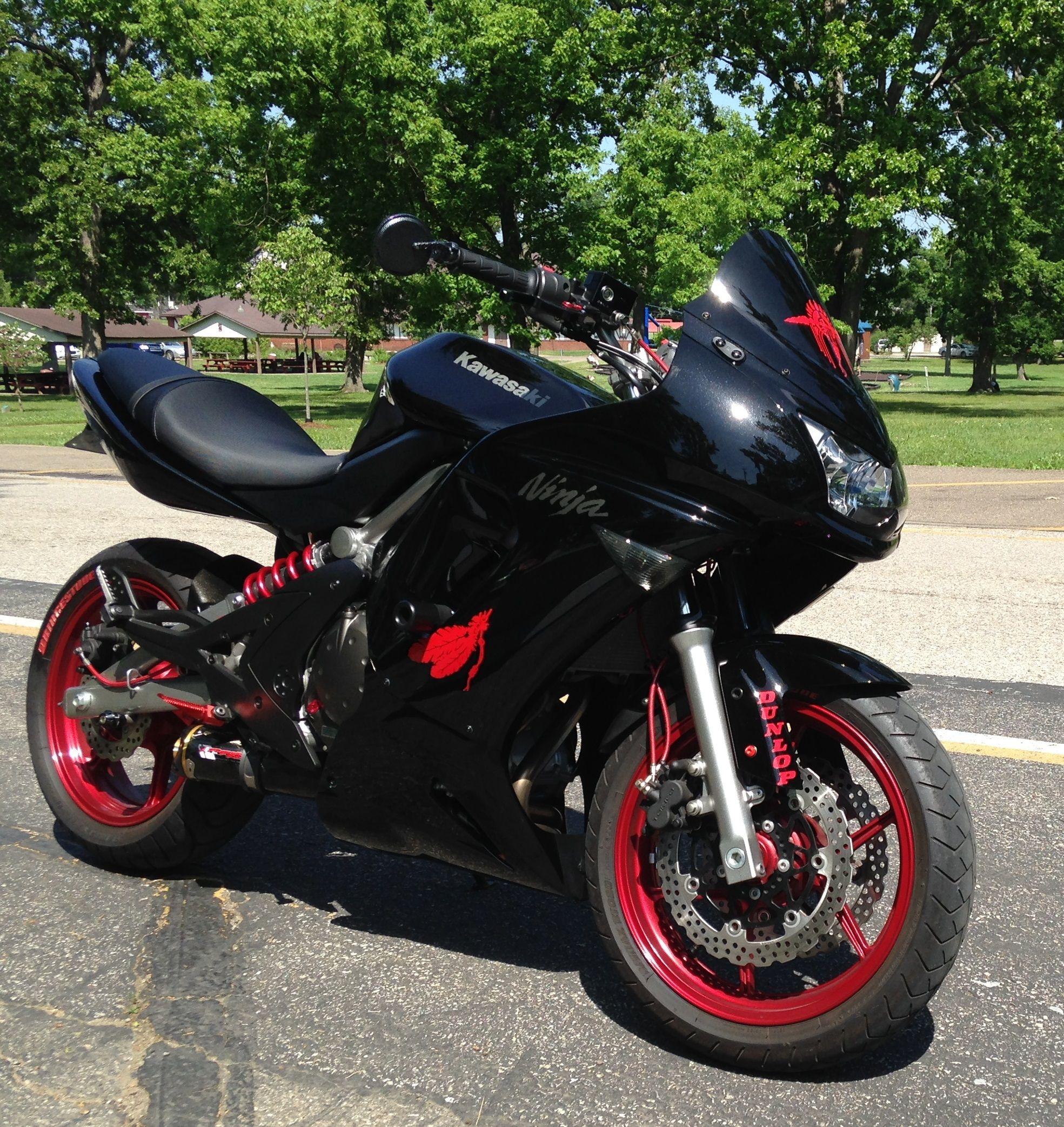 My Modified 2008 Kawasaki Ninja 650R | My Bikes | Pinterest | Ninja ...