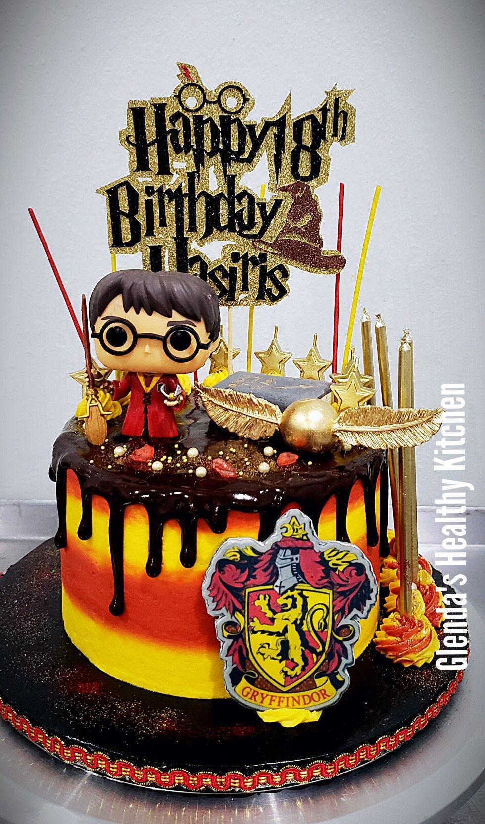 Harry Potter Cake Harry Potter Cake Harry Potter Birthday Cake