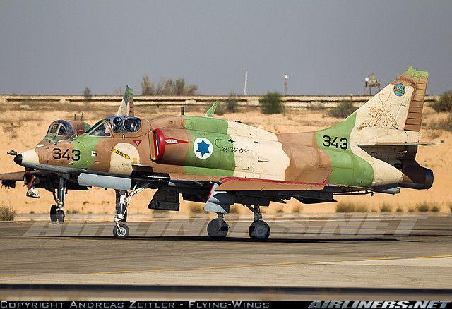 Israeli Air Force: McDonnell Douglas A-4N Skyhawk II (AyitM)