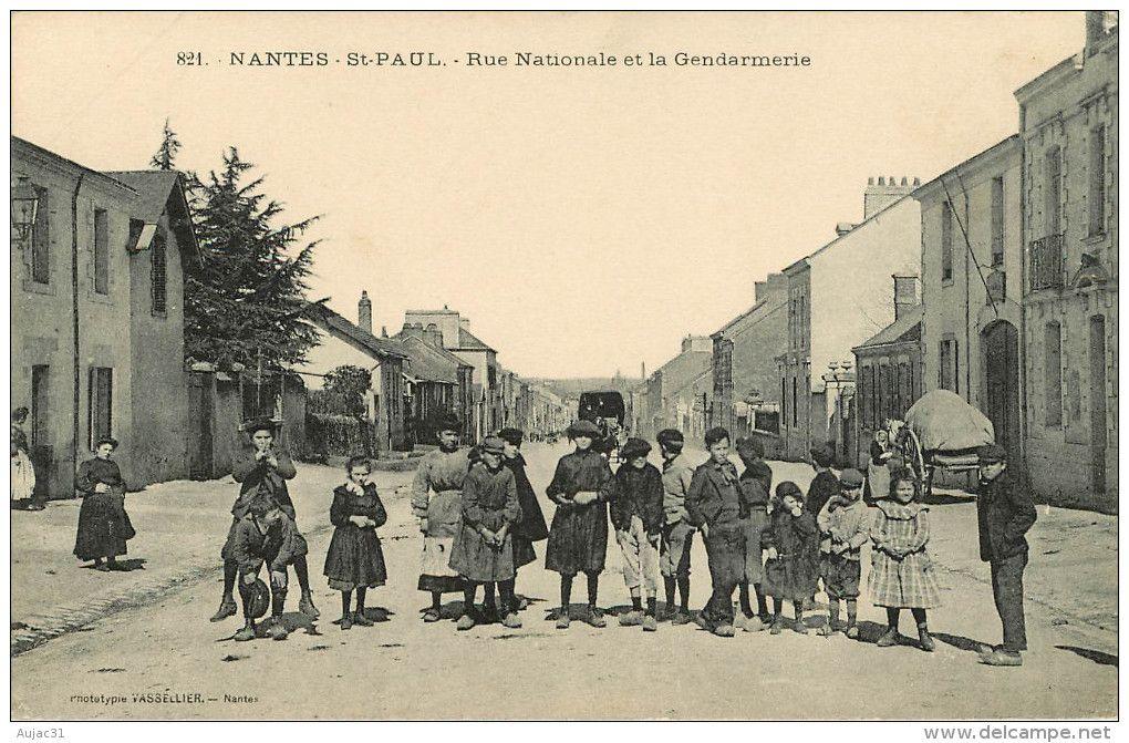 Dép 44 Gendarmeries Pont Rousseau Les Nantes Nantes