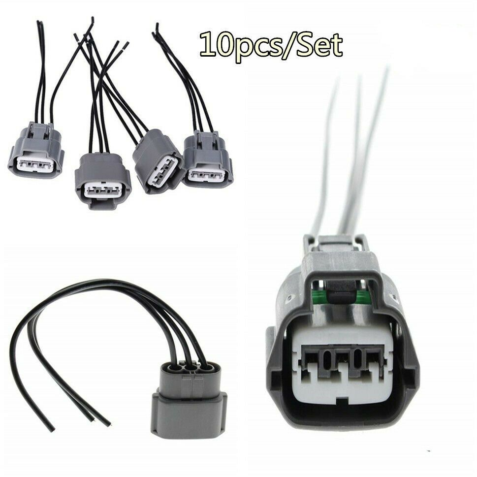 ad ebay 10x new engine ignition coil wiring harness connectors for nissan altima sentra [ 969 x 969 Pixel ]