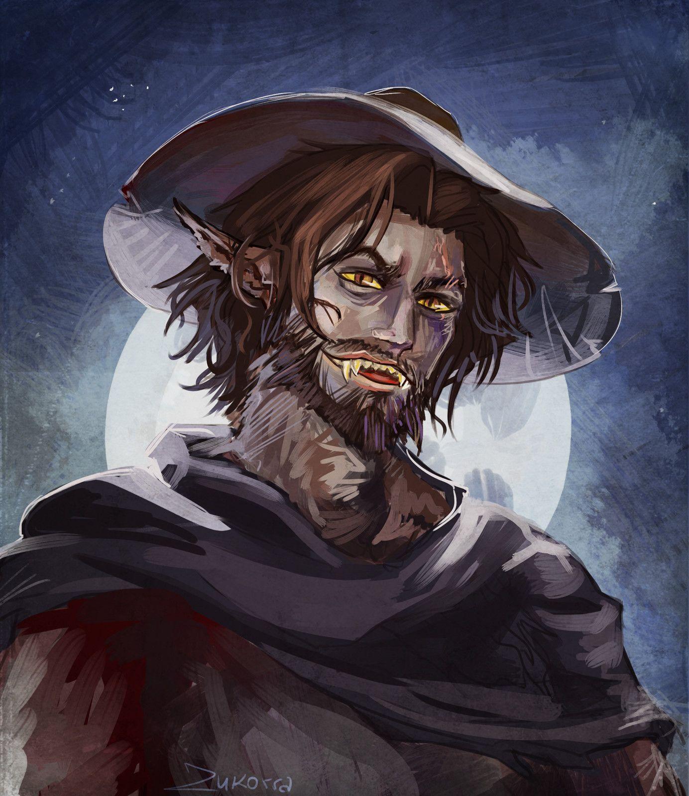 overwatch x werewolf reader