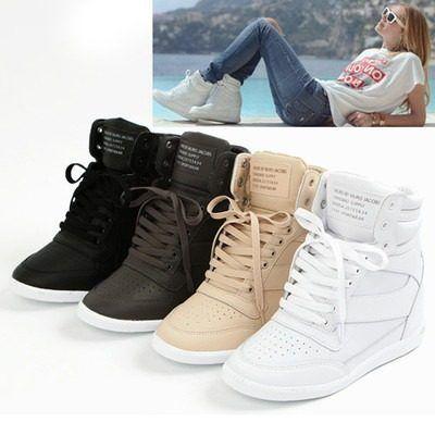 754b2963 Encuentra Tenis Sneakers Tacon Wedge Plataforma Piel 3 Envio Gratis -  Zapatos en Mercado Libre México. Descubre la mejor forma de comprar online.