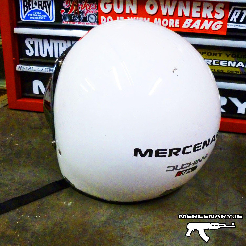 Mercenary #CCCP #BubbleVisor #Helmet #CustomHelmet #Mercenary #MercenaryGarage