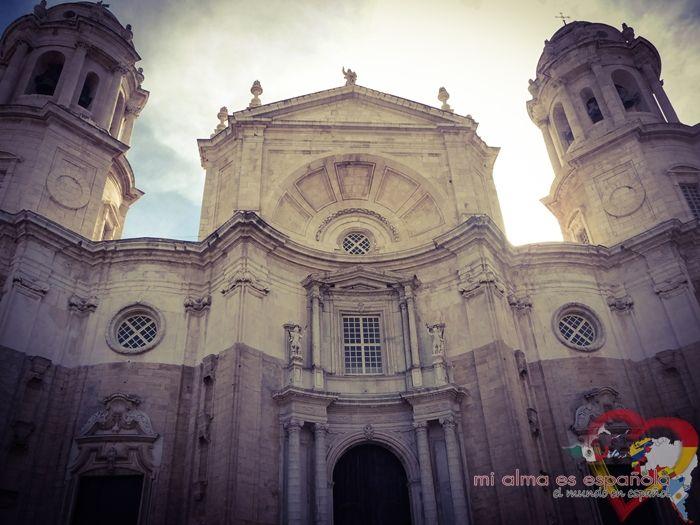 Catedral de Cádiz. Andalucía, España.