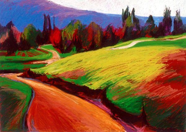 40 Easy Pastel Paintings For Beginners Fine Art Soft