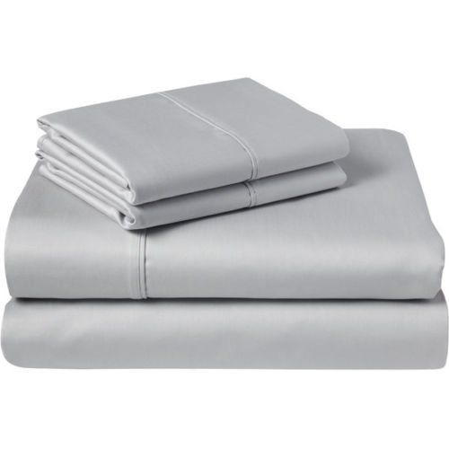 Luxurious Finish 500 Thread Count Comfortable Sleeper Sofa Bed Sheets Set,  Egyptian Cotton   Solid Silver Grey ( Queen Size 60u0027x74u0027x 5u0027 ) ** Details  Can Be ...