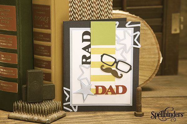 Maker Moments: Rad Dad Father's Day Card - Spellbinders