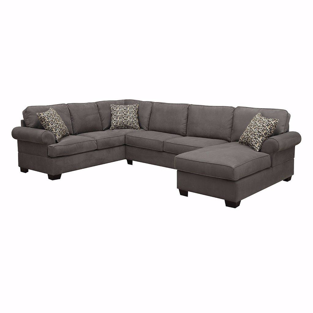 Kahuna Sectional Dark Grey Couches Furniture Reclining