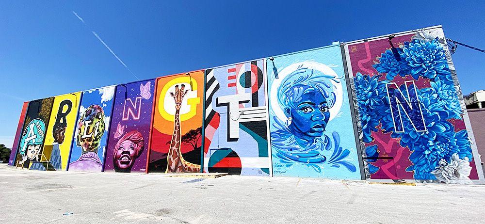 Jacksonville Murals I Spy Scavenger Hunt For Families Jacksonville Beach Moms Beach Mom Best Vacation Spots Jacksonville Beach
