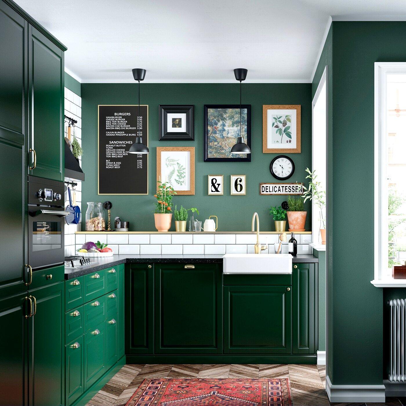 Ikea Caen Catalogue Trick Kitchen Trends Dark Green Kitchen Kitchen Cabinet Design