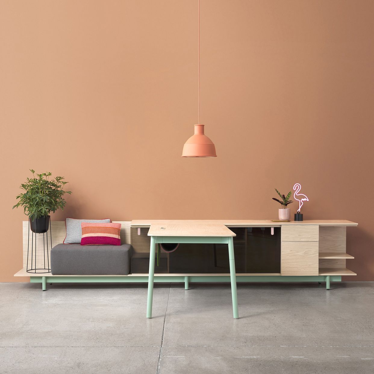 Farmhouse Office Furniture The Best Contemporary And Products From Neocon 2018 Dezeen Farmhouseoffice