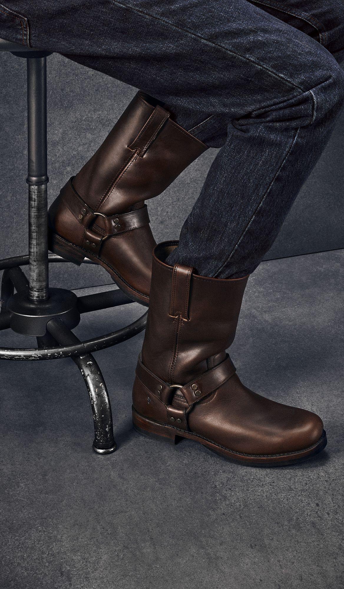 847e089d9b5 John Addison Harness Boots