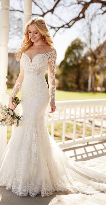 86611297e Glamorous Martina Liana Fall 2017 Wedding Dresses | Mermaid Wedding ...