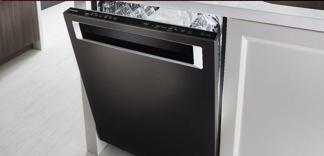 Enter to win a kitchenaid black stainless dishwasher