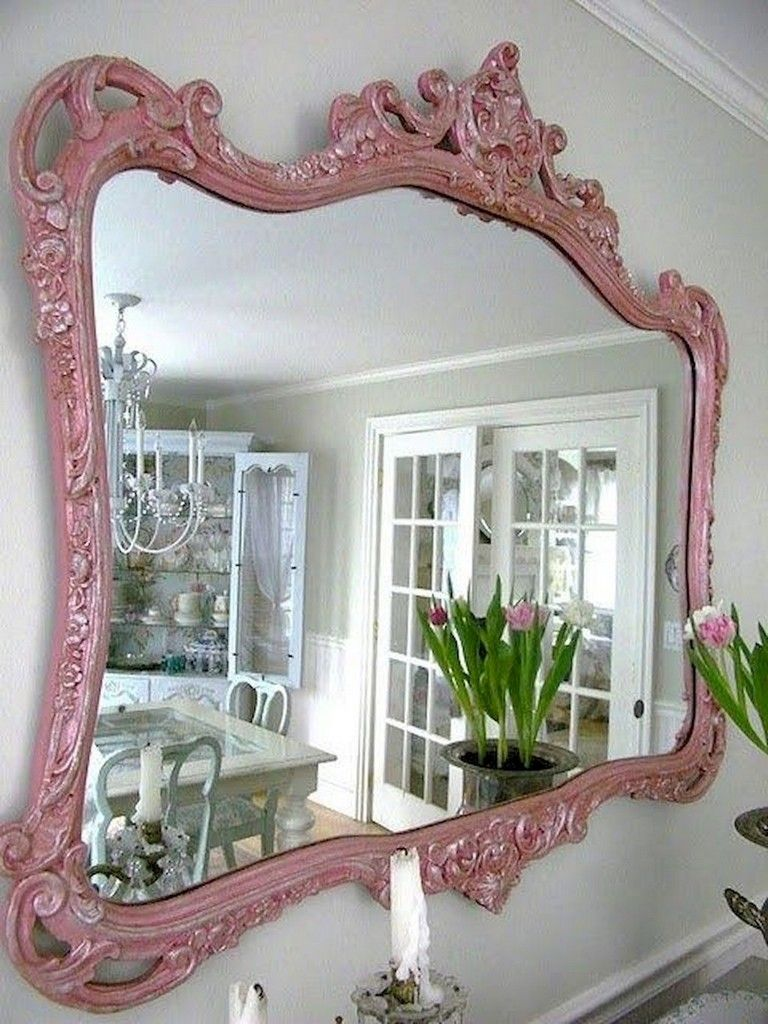 20 Gorgeous Diy Painted Mirror Designs Ideas Mirror Painting Mirror Designs Diy Painting