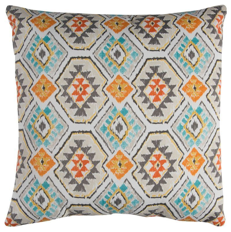 Indoor/Outdoor Indoor & Outdoor Pillow (Teal) (Tfv068)