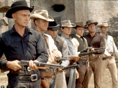 The Magnificent Seven 1960 Premium Poster At Art Com Western Film Western Movies The Magnificent Seven
