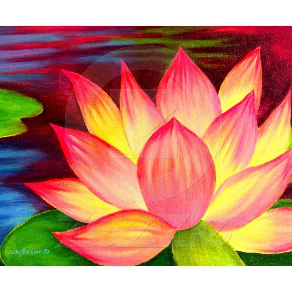 Canvas Prints Lotus Flower Painting Art Art That I Love