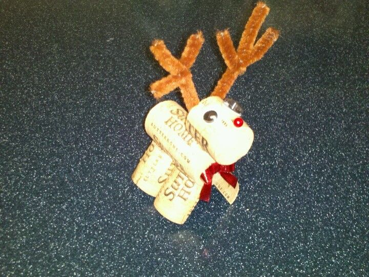 Cutie reindeer ornament - made 2012