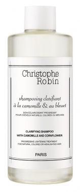 Christophe Robin Clarifying Shampoo with Camomile And Cornflower Haarshampoo