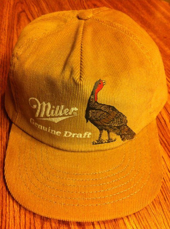 bfef39f94c1 Miller Genuine Draft Beer Vintage SnapBack Trucker by BmoreUnique