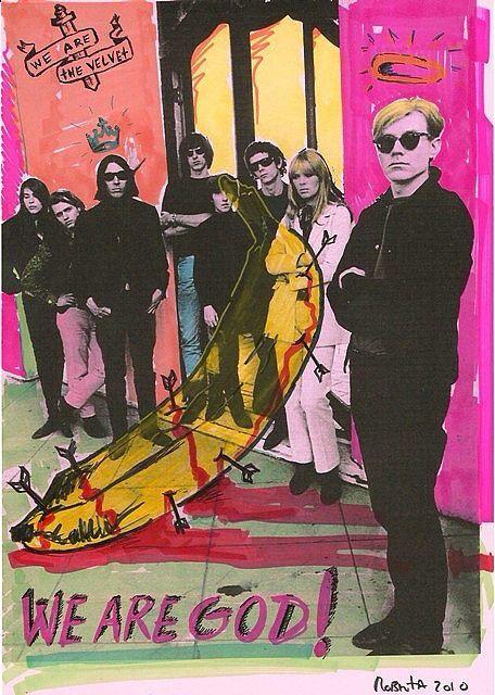Andy warhol + the Velvet Underground #andywarhol