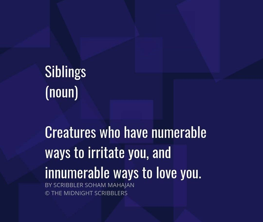 Pin By Twinkle Rana On Brother Siblings Funny Quotes Sister Quotes Sibling Quotes