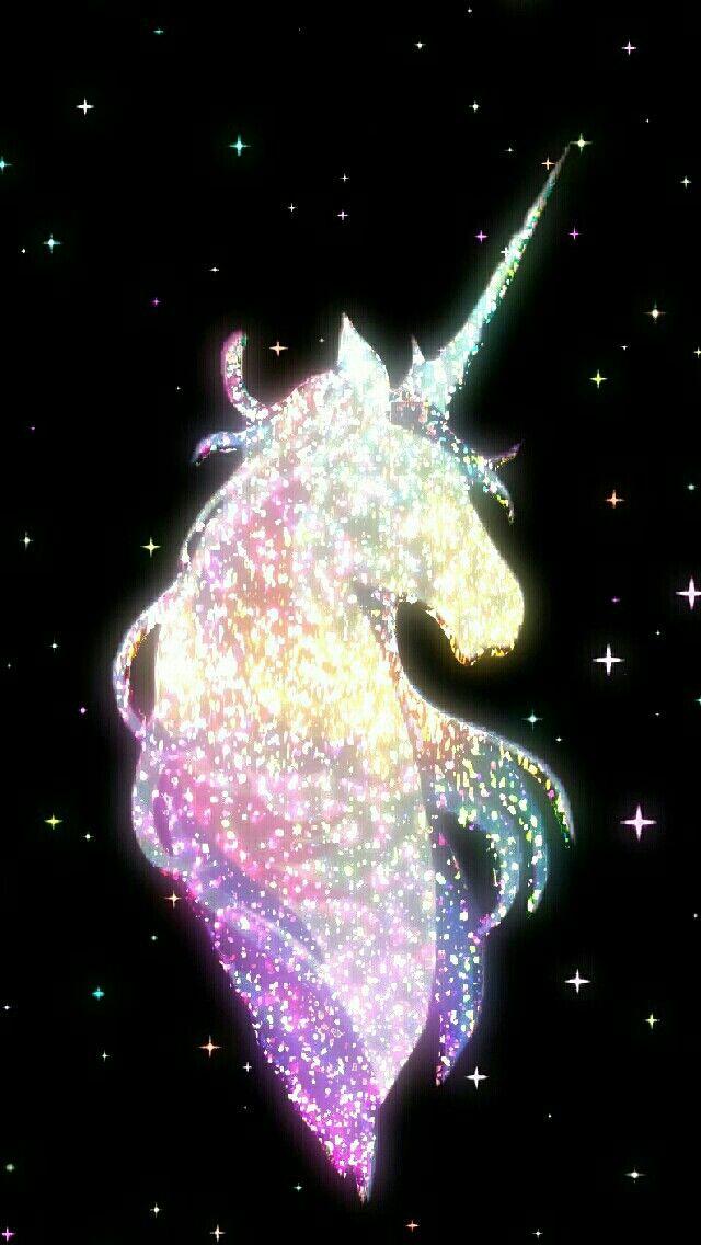 Wallpaper Unicorn Galaxy