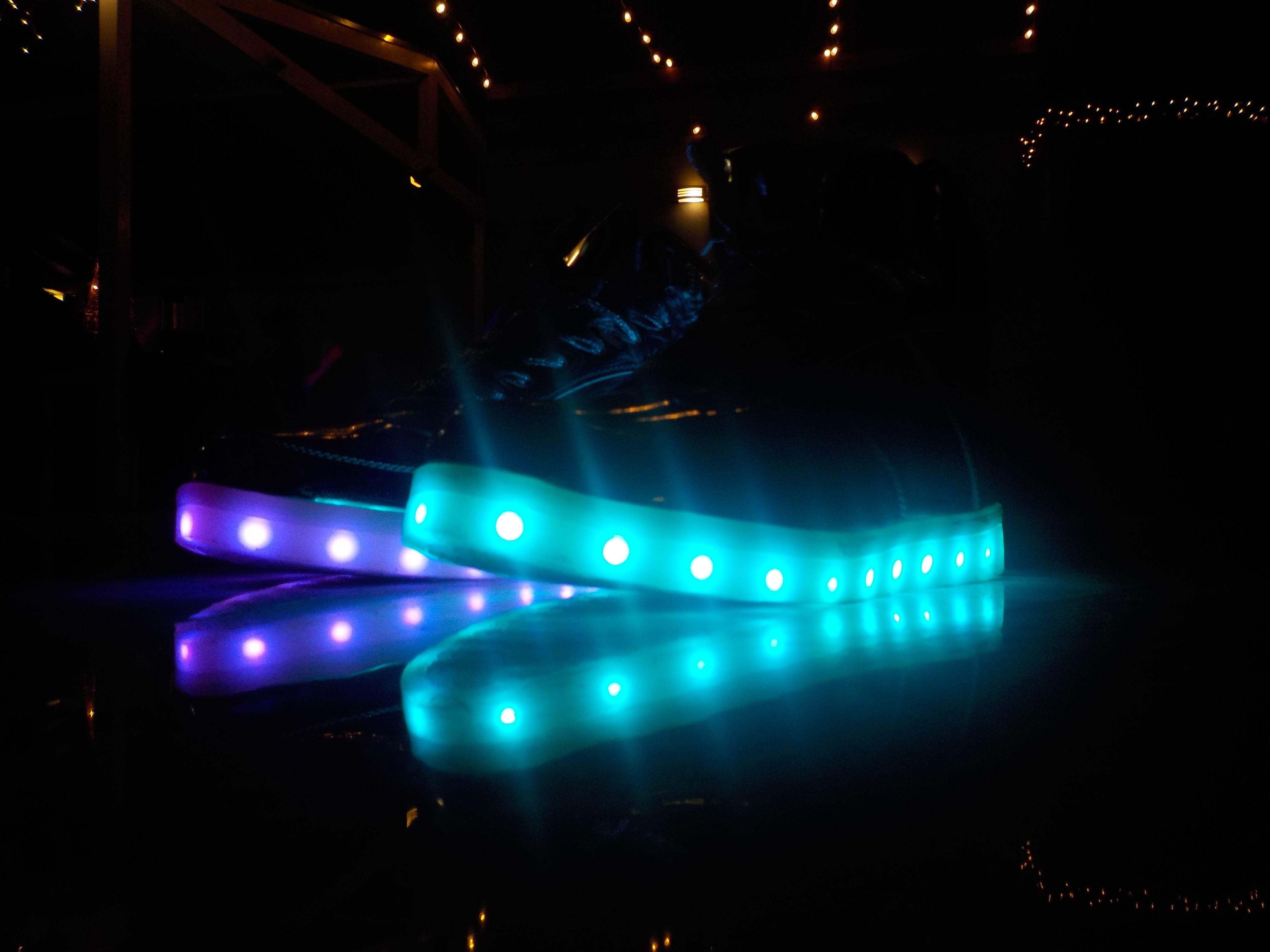 Neon, Light, Shoes, Swag, Cool, Melanie Estrella