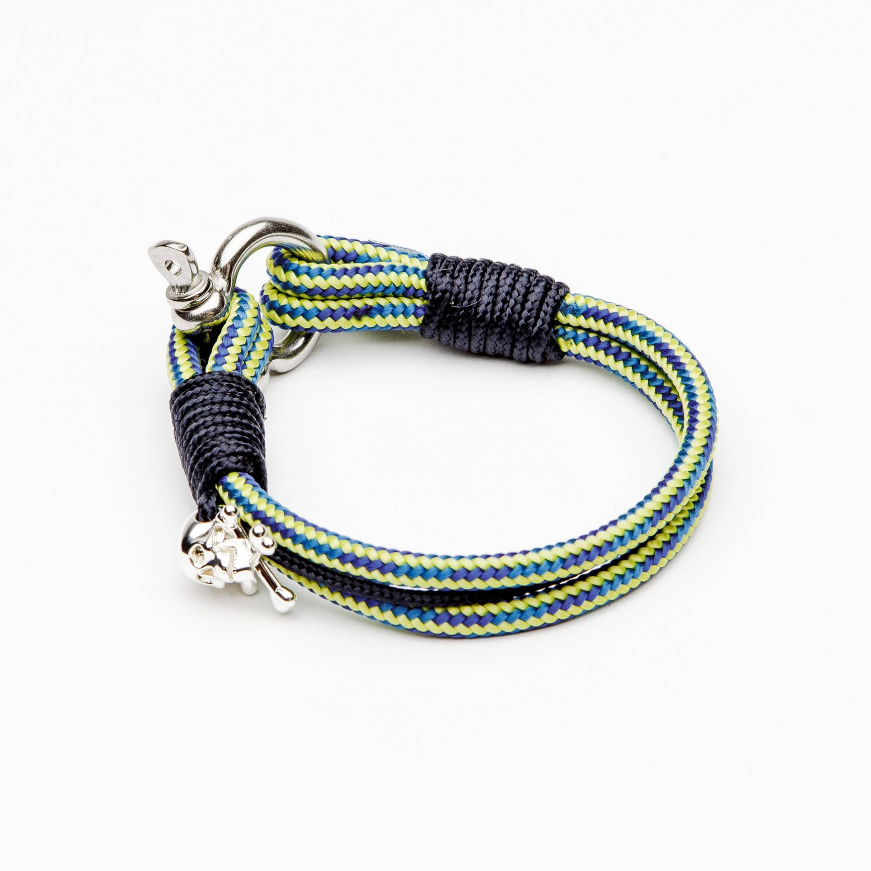 hook navy products nautical district the blue miansai anchor rope brass pastel gold bracelet sporting