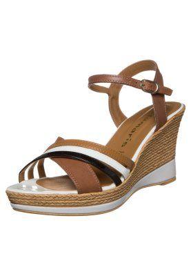 Tamaris Keilsandalette Cognac Zalando De Cognac Tamaris Shoes
